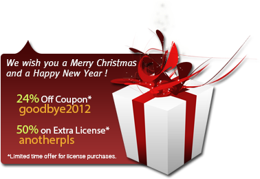 24% Coupon Code* : goodbye2012