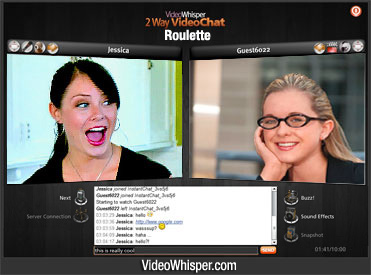 Click to see Chat Roulette Clone Script in Action