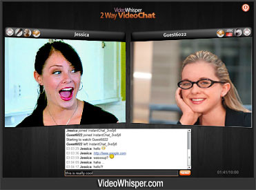 2 Way Video Chat Script : Instant One on One HD Video Conferencing
