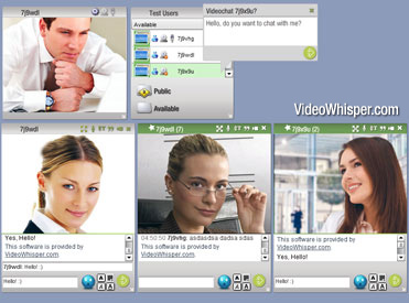 Video Messenger Live Instant Cam Script full screenshot